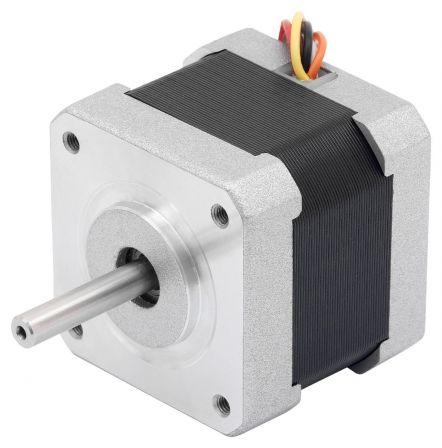 Stappenmotor High Torque 24VDC 42mm 1.8°, 0.09 N-m, 1.4 A