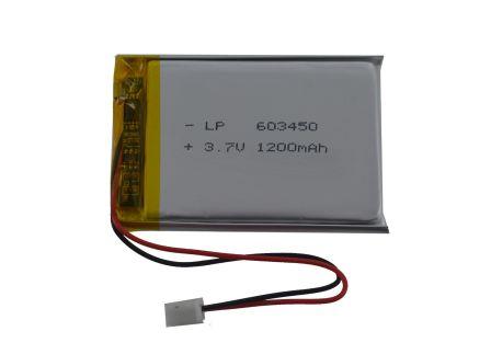 Lithium Ion Batterij - 3.7v 1200mAh