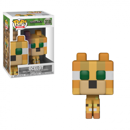 Funko Pop! Minecraft: Ocelot (kans op Chase) #318(#332)