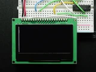 Monochrome 2.42' 128x64 OLED Graphic Display Module Kit