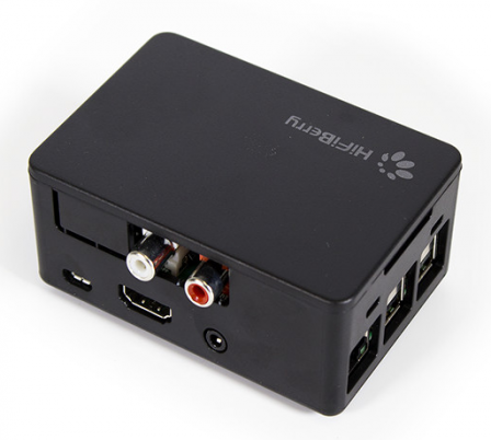 Universele Hifiberry Behuizing Zwart voor Digi+ en RCA+ en AMP2