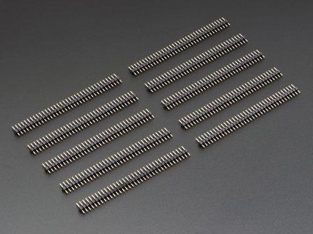 36-pin 0.1' Short Break-away Male Header - Pack of 10