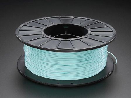 PLA/PHA Filament for 3D Printers - 1.75mm Diameter - Teal - 1KG