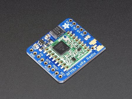 Adafruit RFM95W LoRa Radio Transceiver Breakout - 868 or 915 MHz