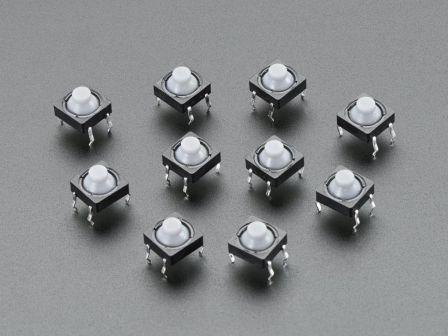 Soft Tactile Button (8mm) x 10
