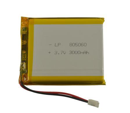 Lithium Ion Batterij - 3.7v 3000mAh
