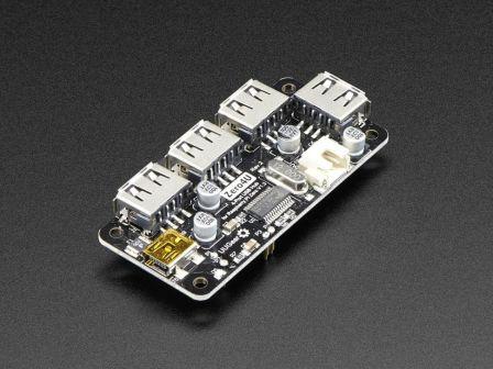 Zero4U - 4 Port USB Hub for Raspberry Pi Zero v1.3