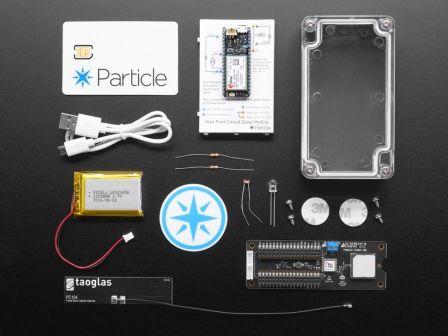Particle Asset Tracker 3G Americas/Aus