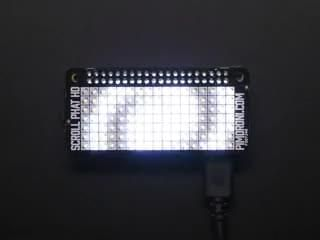 Pimoroni Scroll pHAT HD LED Matrix for Raspberry Pi Zero