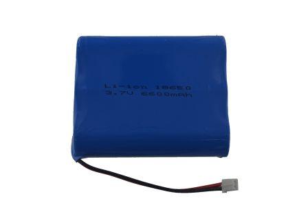Lithium Ion Batterij - 3.7V 6600mAh
