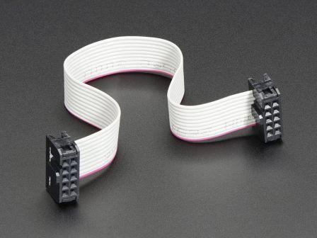 10-pin Socket/Socket IDC cable - 6'