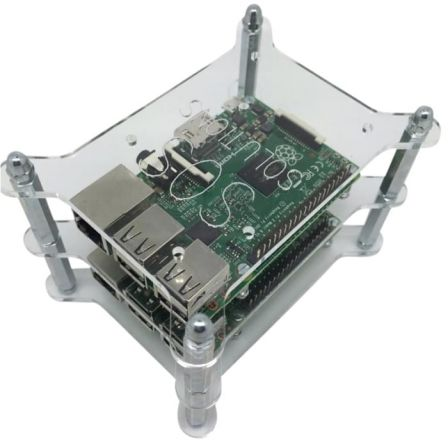 Raspberry Pi Stacker Behuizing - Transparant