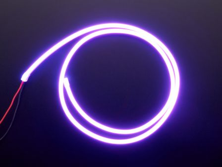Flexible Silicone Neon-Like LED Strip - 1 Meter - Purple
