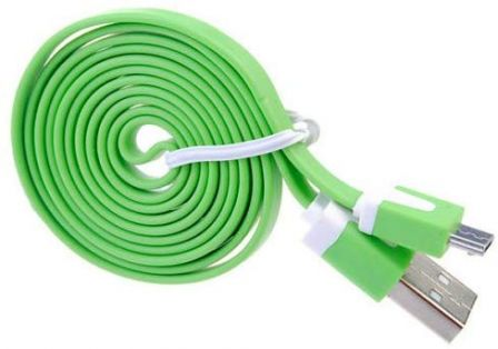 Micro-USB Noodle Kabel 2M Roze