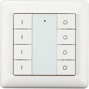 Heatit Z-Push 8 Button - Wit