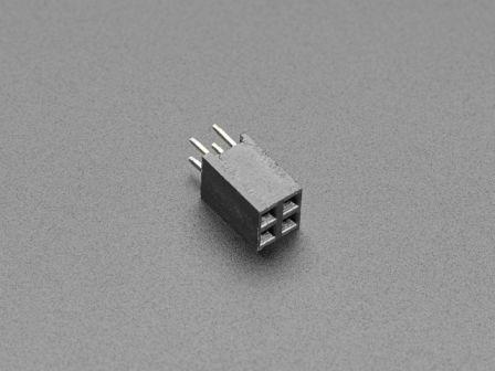 GPIO Female Socket Riser Header - 2x2 4-pin
