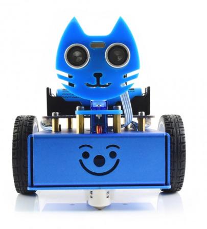 KitiBot 2WD robot kit voor de Micro:Bit (niet inbegrepen)