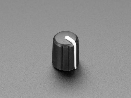 Slim Rubber Rotary Encoder Knob - 11.5mm x 14.5mm D-Shaft