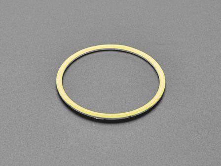 Cool White LED Ring Light PCB - 70mm Diameter - 5V Power