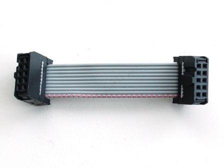 10-pin Socket/Socket IDC cable - Short 1.5'