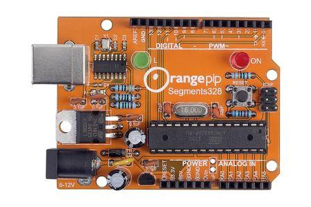 Orangepip Segments328 - Bouw je eigen Arduino Kit