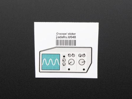 Oscilloscope - Sticker!