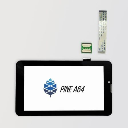 "Pine64 7"" Lcd Touchscreen"