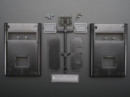 Smoke Translucent Enclosure for Arduino - Electronics enclosure