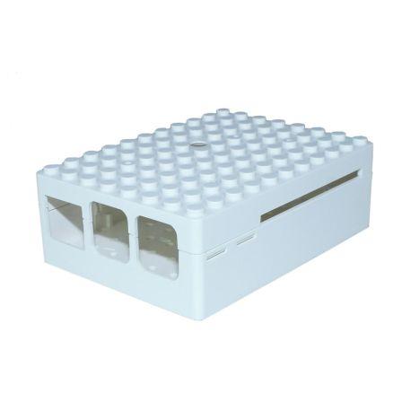 Pi-Blox Behuizing voor LEGO en Raspberry pi B+ / 2B / 3B Wit