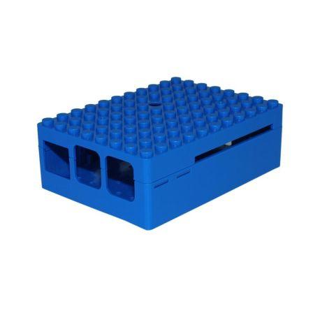 Pi-Blox Behuizing voor LEGO en Raspberry pi B+ / 2B / 3B Blauw
