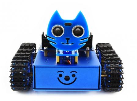 KitiBot Rupsband robot kit voor micro:bit (niet inbegrepen)
