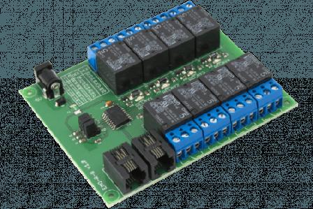 8-Relais Addon Bord Voor UniPi EMO-R8