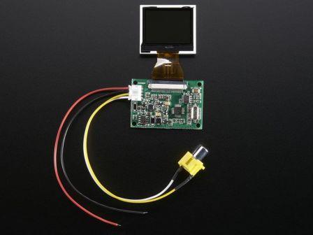 NTSC/PAL (Television) TFT Display - 1.5' Diagonal
