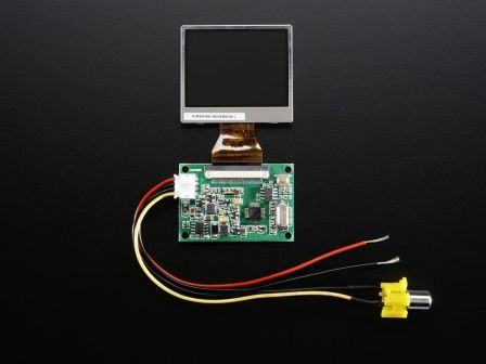 NTSC/PAL (Television) TFT Display - 2.0' Diagonal