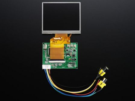 NTSC/PAL (Television) TFT Display - 3.5' Diagonal
