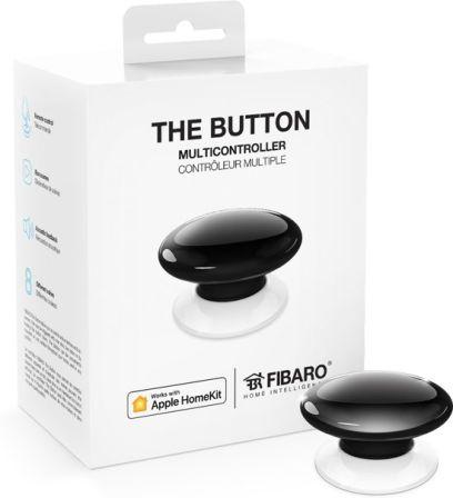 Fibaro The Button Voor Apple Home Kit Zwart