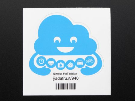 Nimbus the Cloud - Internet of Things- Sticker!