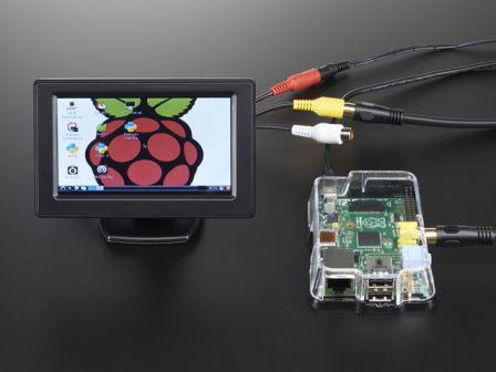 NTSC/PAL (Television) TFT Display - 4.3' Diagonal