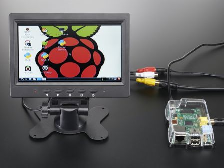 NTSC/PAL (Television) TFT Display - 7' Diagonal
