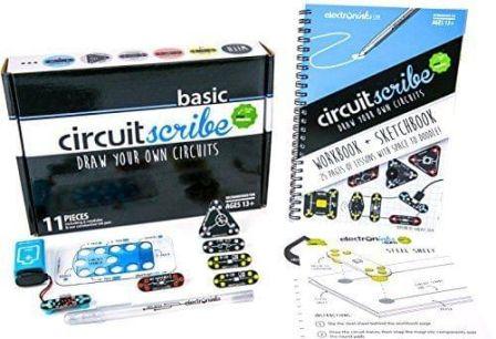 CircuitScribe Basis Kit 11-delig met Boekje Zilver