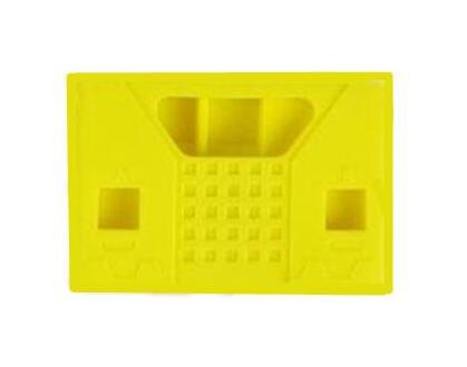 Siliconen Behuizing voor Micro:Bit V2 - Vierkant Geel