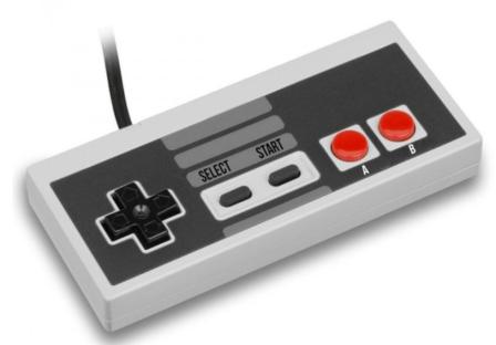 Controller voor de Nintendo Mini Classic NES