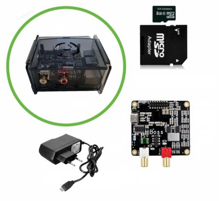 Raspberry Pi 3B+ Allo BOSS Audio Kit