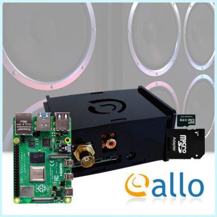 ALLO DigiOne Audio Kit met Raspberry PI 4B