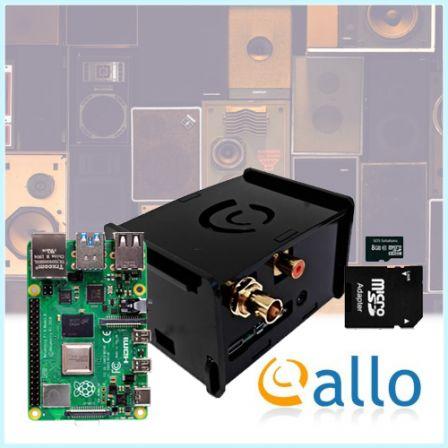 ALLO DigiOne Signature Audio Kit met Raspberry PI 4B