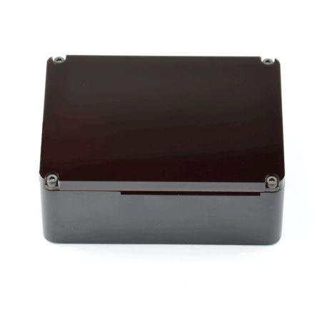 Anidees Black Case w/ Brown Top for Raspberry Pi B+/Pi 2/Pi 3