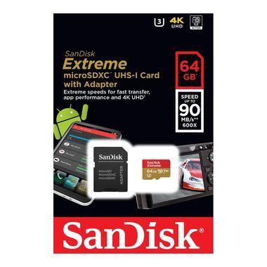 Sandisk Extreme 64GB Microsdxc 100MB/s