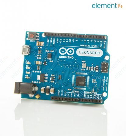 Arduino Leonardo + Headers