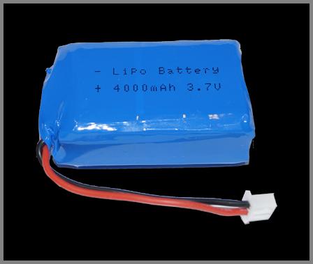 Pico LiPo batterij 4000 mAh met bevestigingsbeugeltje