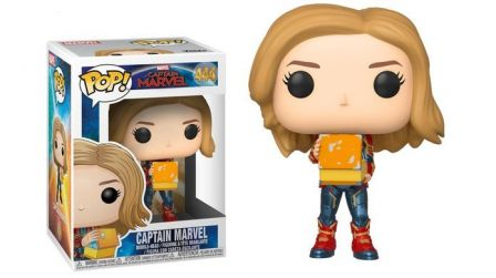 Funko Pop! Captain Marvel: Captain Marvel with Lunch Box #444